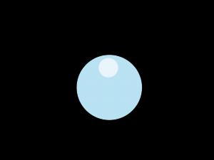 虫眼鏡の画像